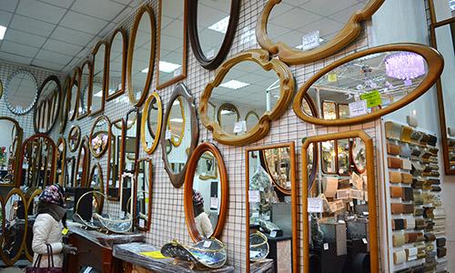 """Зеркала в багетах - магазин """"Зазеркалье"""" - все для дома и бани"""