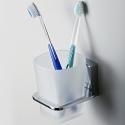 К-5028 Стакан для зубных щеток стеклянный