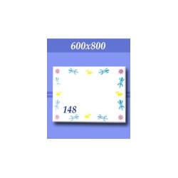 Зеркало в ванную зг148ф 800х600мм