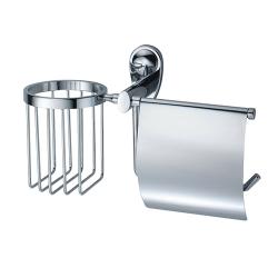 К-9259 Держатель туалетной бумаги и освежителя