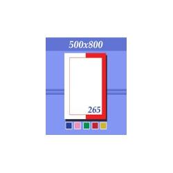 Зеркало зг265п зеленое 500х800мм