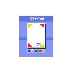 Зеркало универсальное зг276 красно-зеленое 500х700мм