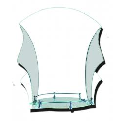 Зеркало в ванную зг352м 500х600мм