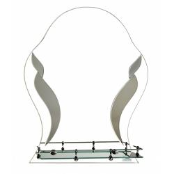 Зеркало в ванную зг357т 500х600мм
