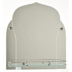 Зеркало в ванную згВ-02 450х550мм