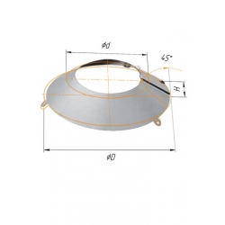 фланец ф115-120 н.430/0,5мм