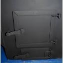 Печь для бани Паровоз-2-Эконом правый с баком - дверки | zz-c.ru