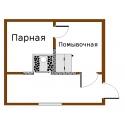 Печь для бани Паровоз-2-Эконом правый с баком - схема установки | zz-c.ru