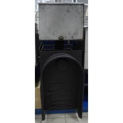 печь для бани Прямая с аркой и баком