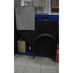 Печь для бани Элит-200 левая с аркой и баком - общий вид | zz-c.ru