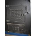 Печь для бани Элит-200 левая с аркой и баком - дверки | zz-c.ru