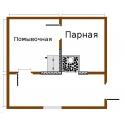 Печь для бани Элит-200 левая с аркой и баком - схема установки | zz-c.ru