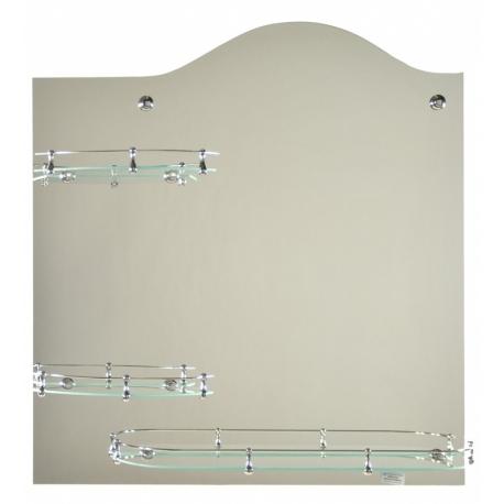 Зеркало в ванную зг049л 750x800мм
