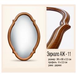 зеркало в раме АЖ-11 660х960х25мм