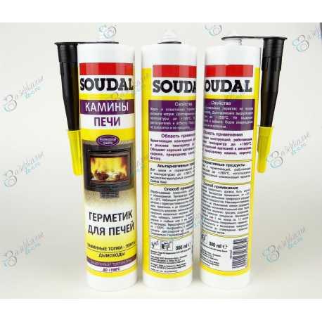 герметик для печей SOUDAL +1500°C - общий вид