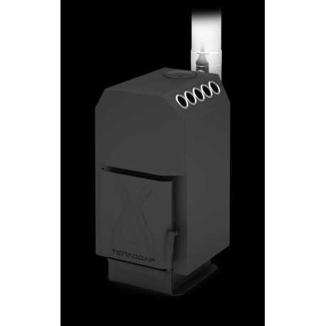 печь для отопления ТОП-140 ДС - вид спереди