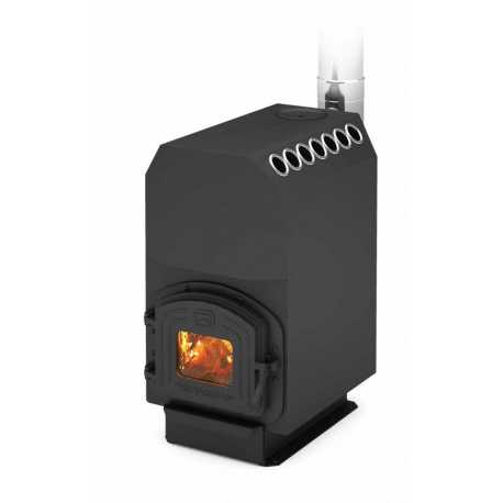 печь для отопления ТОП-200 ДЧ - вид спереди