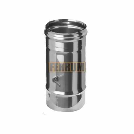 шибер поворотный ф110 н.430/0,8мм