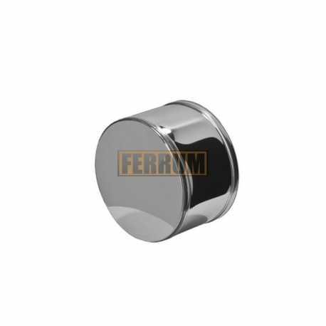 заглушка для трубы ф150 н.430/0,5мм внешн.