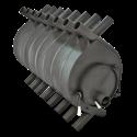 Печь для отопления Клондайк НВ-1000 - общий вид | zz-c.ru