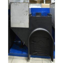 печь для бани Паровоз-2 левый с аркой и баком