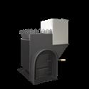 Печь для бани Элит-200 правая с аркой и баком - общий вид 1 | zz-c.ru
