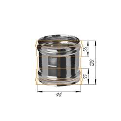 адаптер ММ ф115 н.430/0,5мм