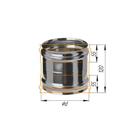 адаптер ММ ф120 н.430/0,5мм