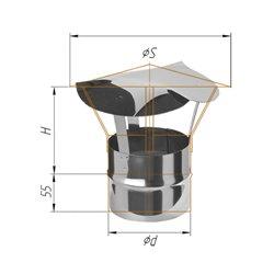 зонт-Д ф115 н.430/0,5мм