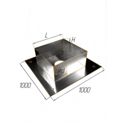 ППУ 1000 ф200 н.430/1мм + оц