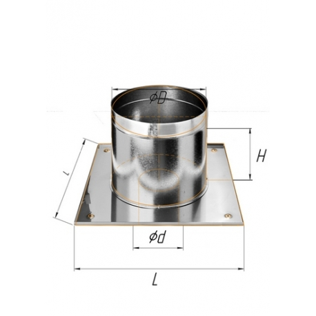 ППУ Круг ф115 н.430/0,5мм + оц