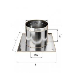 ППУ Круг ф120 н.430/0,5мм + оц
