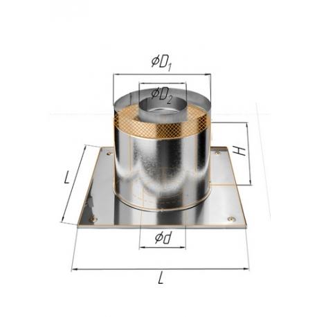 ППУ Круг+термо ф115 н.430/0,5мм + оц