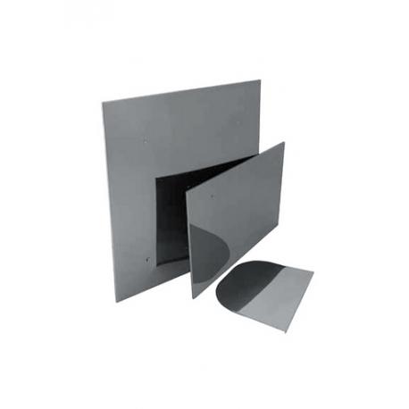 экран защитный 0,5х0,5м с отв. ф115 н.430/0,5мм