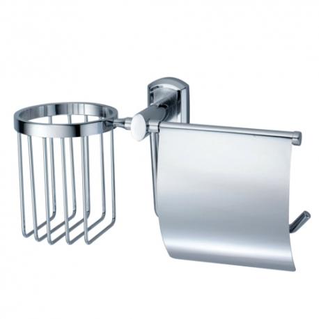 K-3059 Держатель туалетной бумаги и освежителя